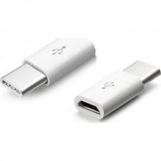 ADAPTOR MICRO USB ΣΕ TYPE C ANCUS 20775 ΑΝΤΑΠΤΟΡΑΣ MICRO USB WHITE